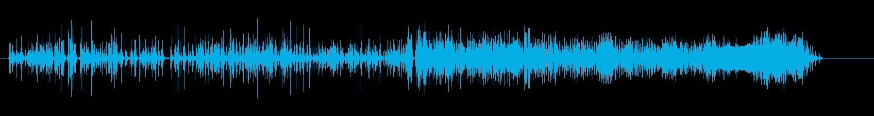 怨念の声(呪怨系)の再生済みの波形