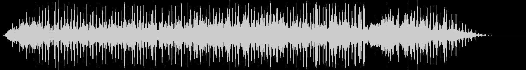 エルロシオ拍手とヤシの木の未再生の波形