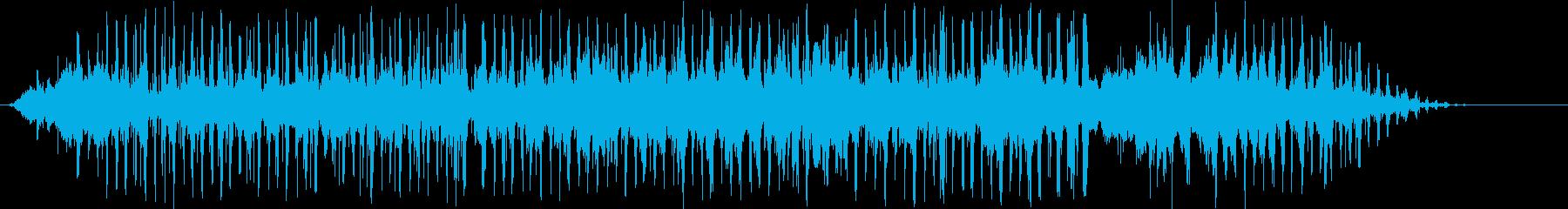 エルロシオ拍手とヤシの木の再生済みの波形
