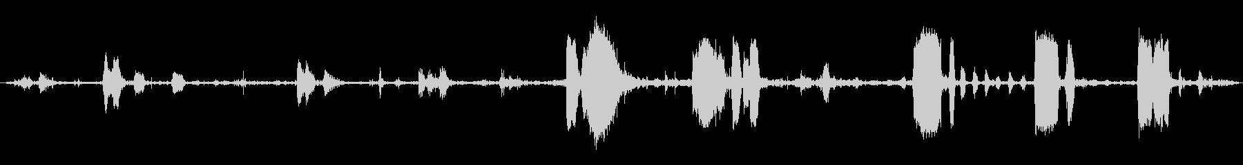 マッドスタリオン:キック、スクリー...の未再生の波形