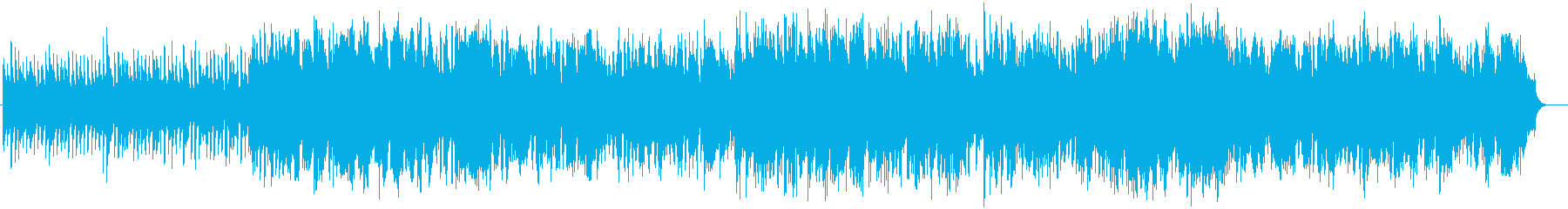 緑あふれるリラクゼーションミュージックの再生済みの波形