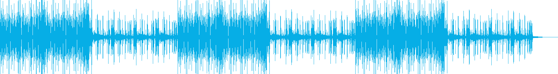 三味線を用いた和風で軽快なポップの再生済みの波形