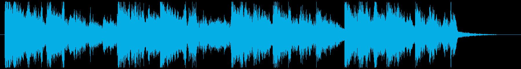 ジングル - 北欧ジャングルの再生済みの波形