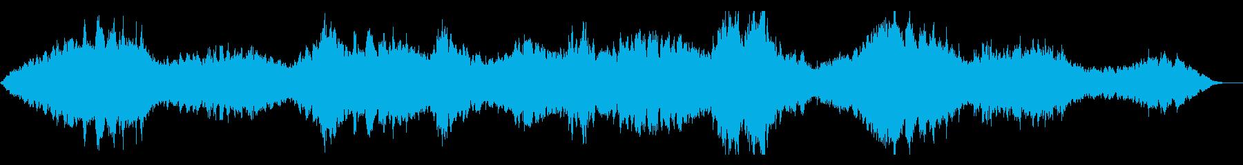 和楽器が鳴り響く神秘的なアンビエントの再生済みの波形