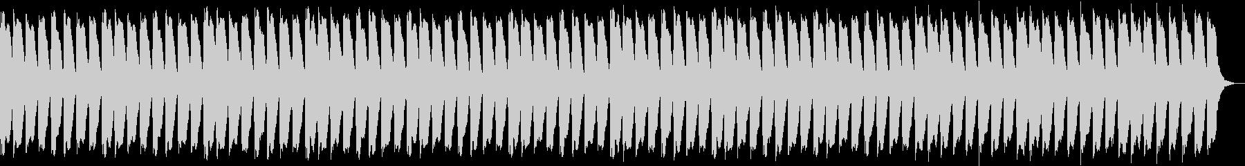 軽快な心に響く安らぎ音楽の未再生の波形