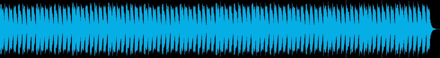 軽快な心に響く安らぎ音楽の再生済みの波形