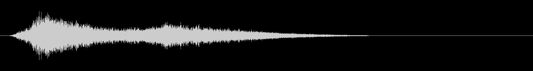 フェーズ付きの低速高周波電子フィー...の未再生の波形
