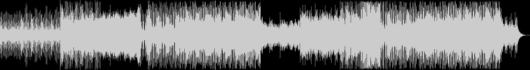 マリンバ×エレクトロの可愛らしいサウンドの未再生の波形