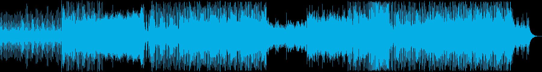 マリンバ×エレクトロの可愛らしいサウンドの再生済みの波形
