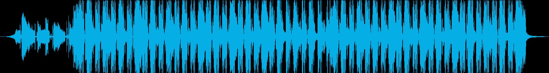 Funk Hip-Hop Musicの再生済みの波形