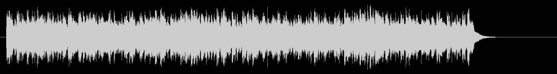 アコースティック風BGM(サビ)の未再生の波形