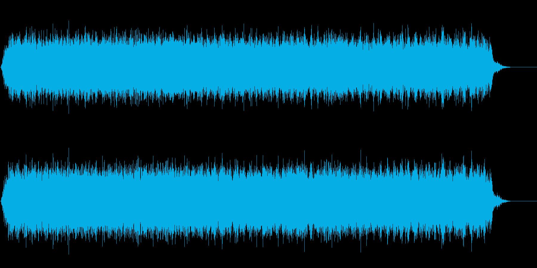 [生録音]ミキサーで混ぜる03-ロングの再生済みの波形
