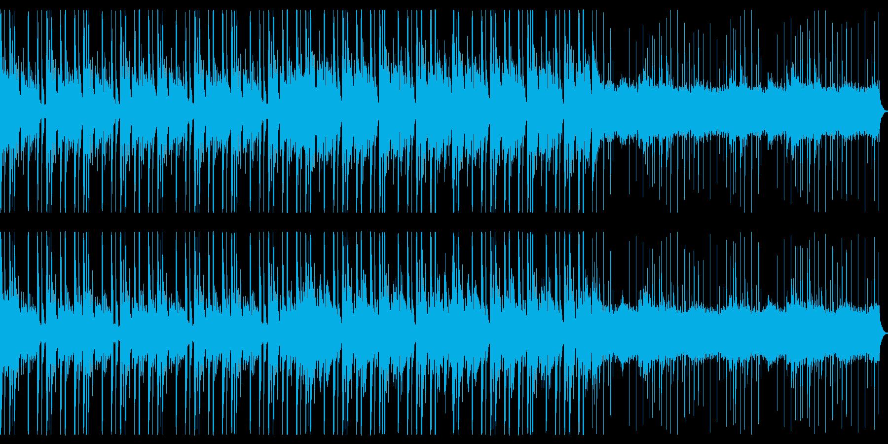 緊迫、バイオレンス、ヒップホップ①ループの再生済みの波形