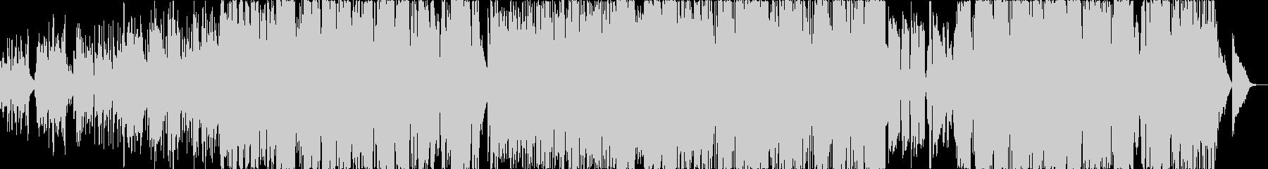 生アコギ・ピアノ、ハーモニカ切なJPOPの未再生の波形