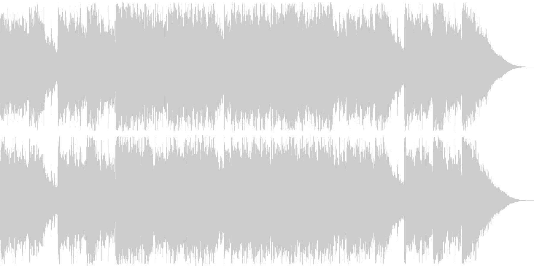 Refreshing commercials, Western music, female vocal pops's unreproduced waveform