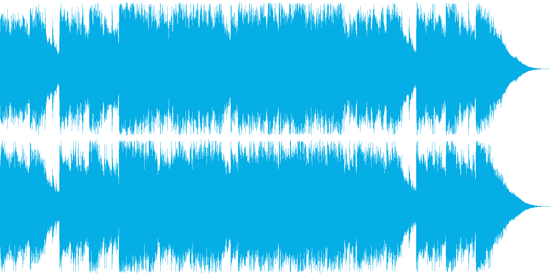Refreshing commercials, Western music, female vocal pops's reproduced waveform