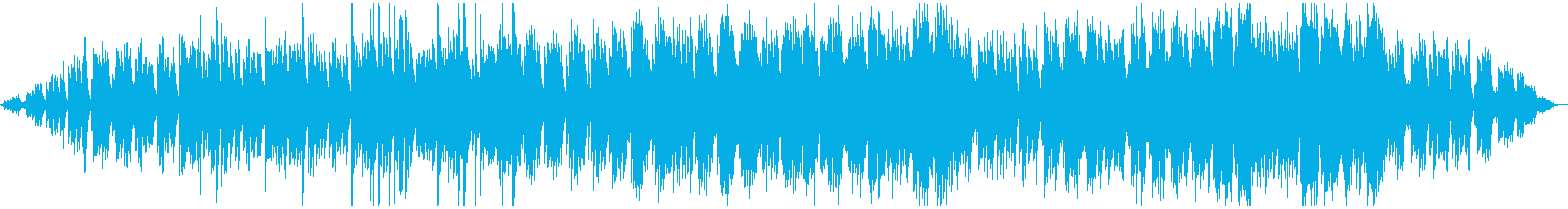 ヨガや瞑想に使える民族音楽的な雰囲気の曲の再生済みの波形
