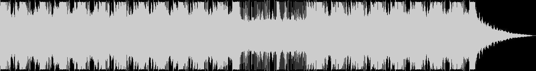 迫力のあるサスペンス風BGMの未再生の波形