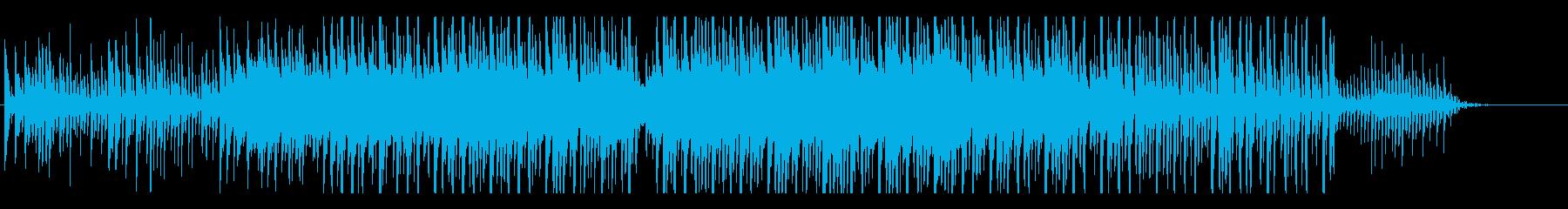疾走感のあるオシャレなエレクトロニカの再生済みの波形