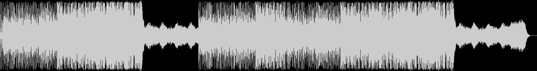 おまぬけな日常の曲ですの未再生の波形