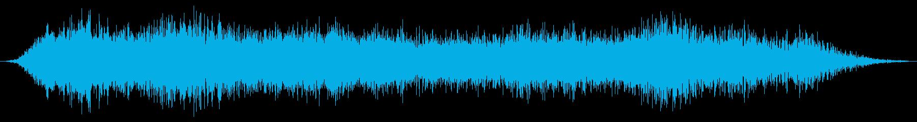 大規模なドラマチックな残響金属スク...の再生済みの波形