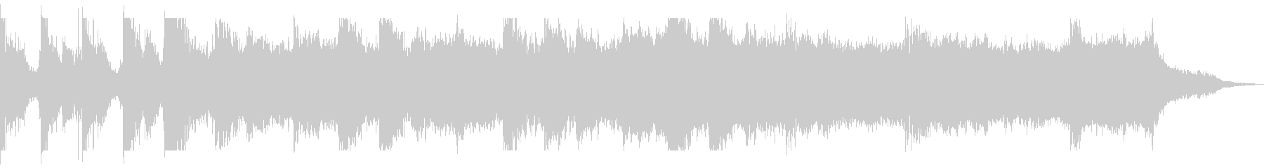 Serious documentary-style BGM's unreproduced waveform