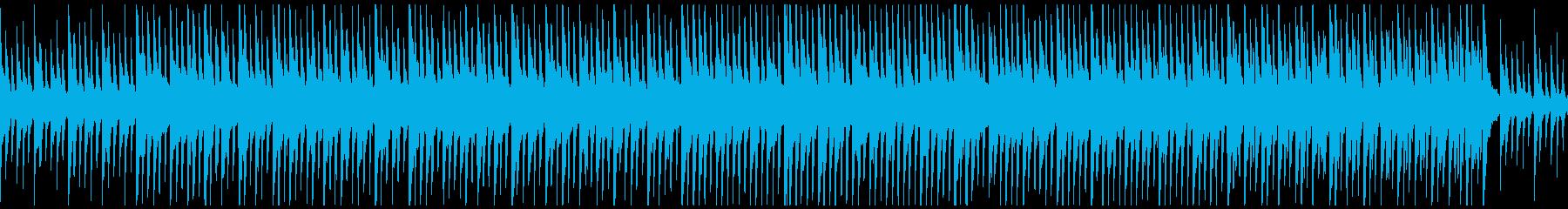 神秘的・不思議で安心な空間のBGMの再生済みの波形