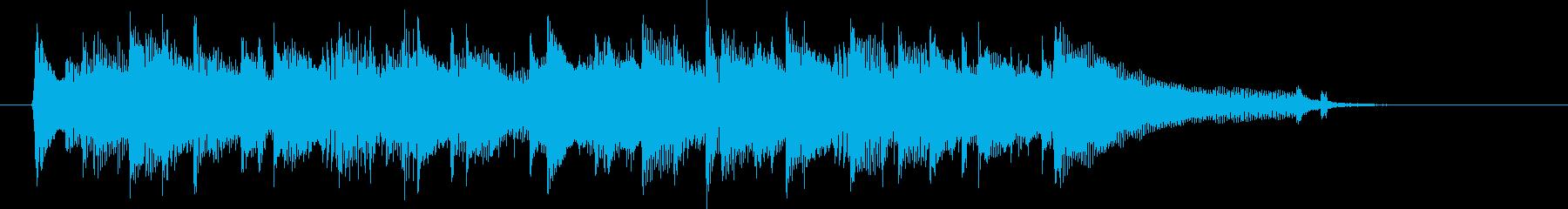 アコギ、明るい、感動、日常、CM15秒2の再生済みの波形