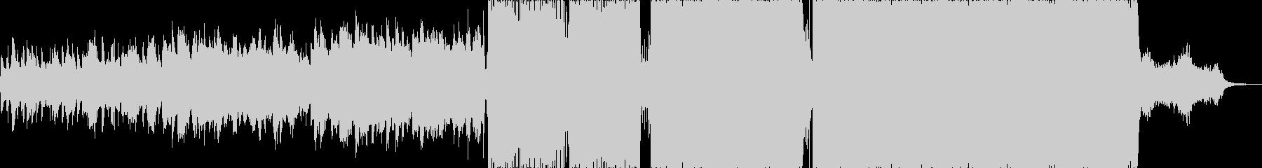 ダークで退廃的女性Vo曲の未再生の波形