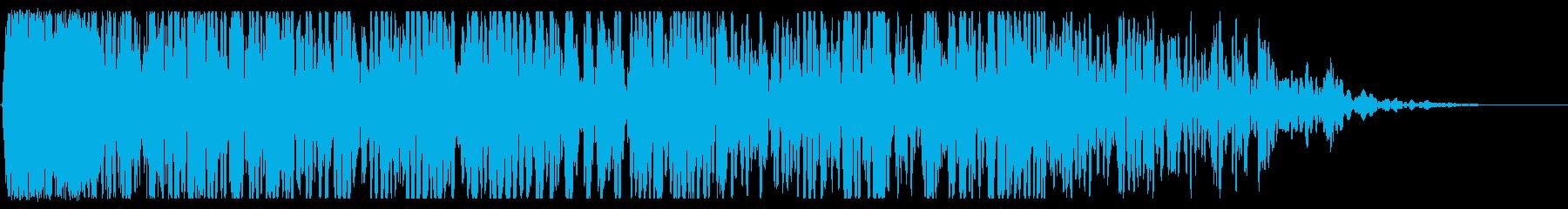 シューという爆発爆発の再生済みの波形