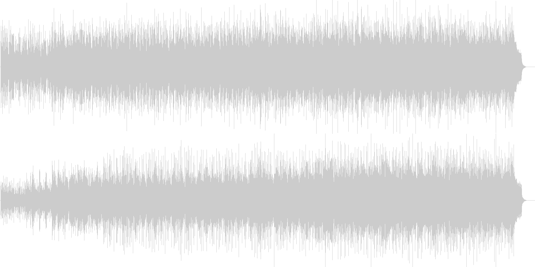 ストーンズ/プライマル系のゴスペルジャムの未再生の波形
