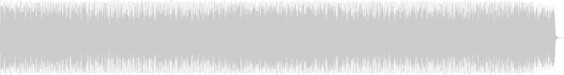 Cool techno song's unreproduced waveform
