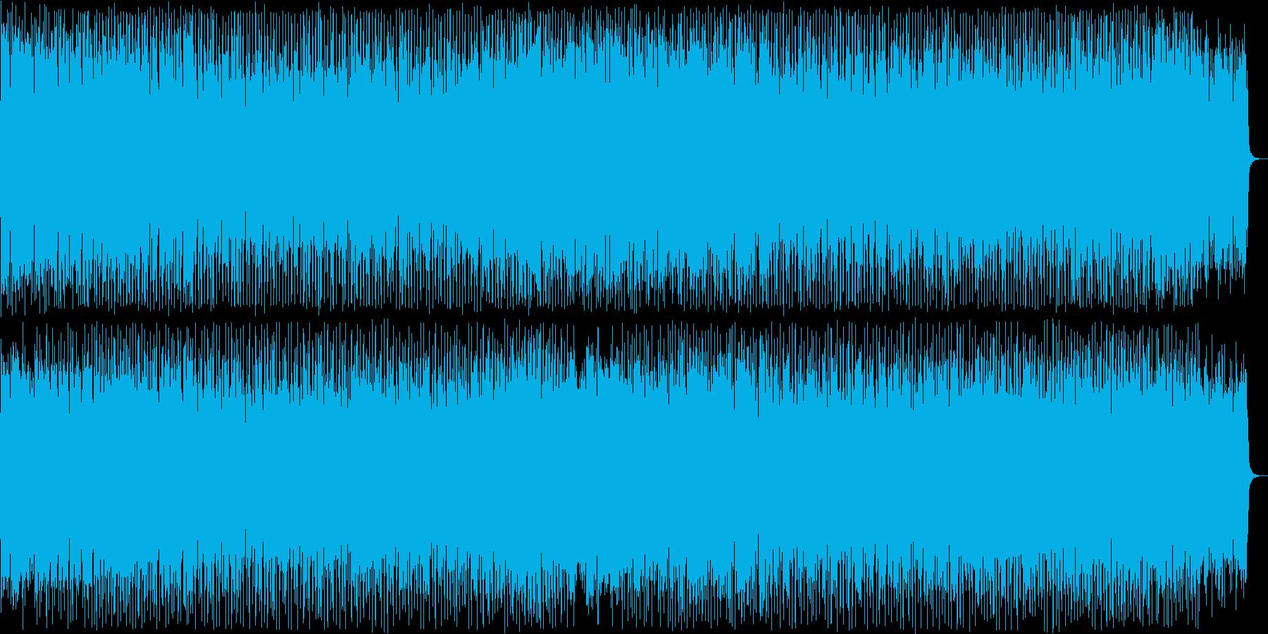 かっこいいテクノソングの再生済みの波形