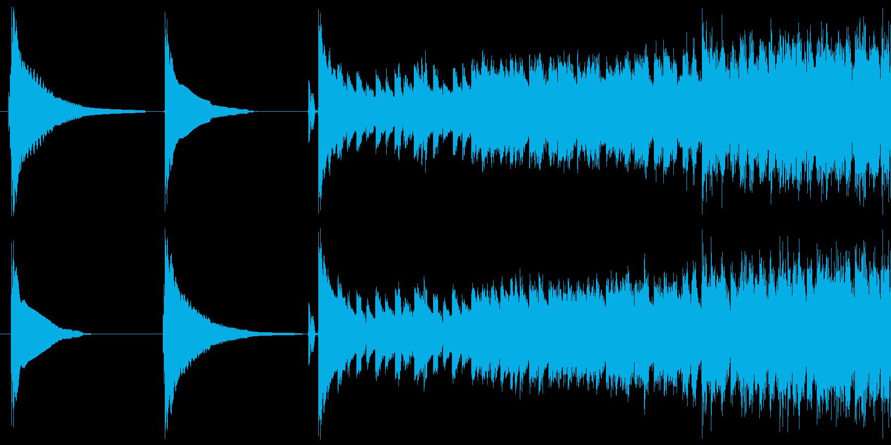 Slipper deの再生済みの波形