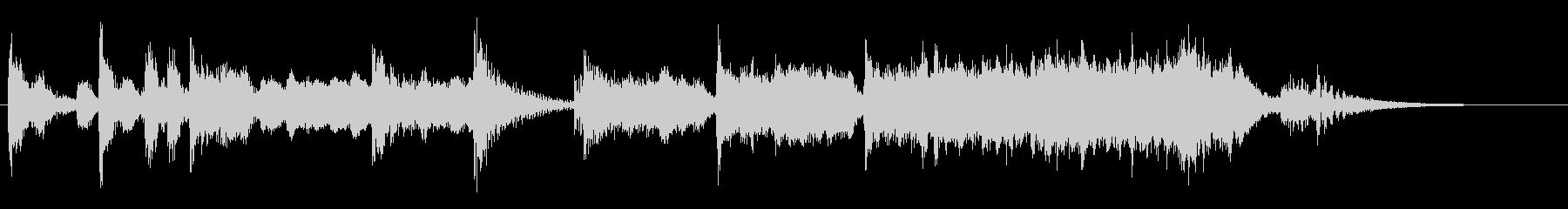 演歌な ジングル アイキャッチ 1の未再生の波形