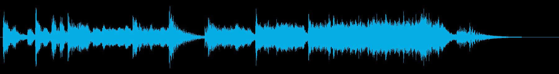 演歌な ジングル アイキャッチ 1の再生済みの波形