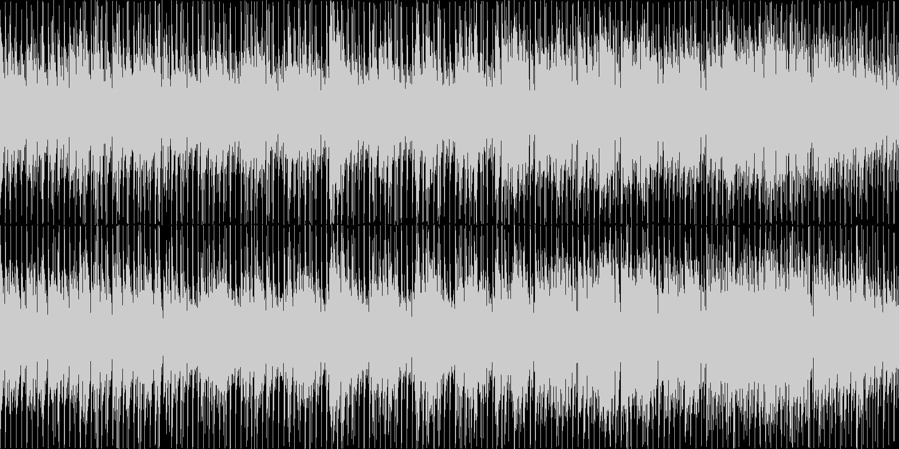 【ループ】爽やかで元気なギターインストの未再生の波形