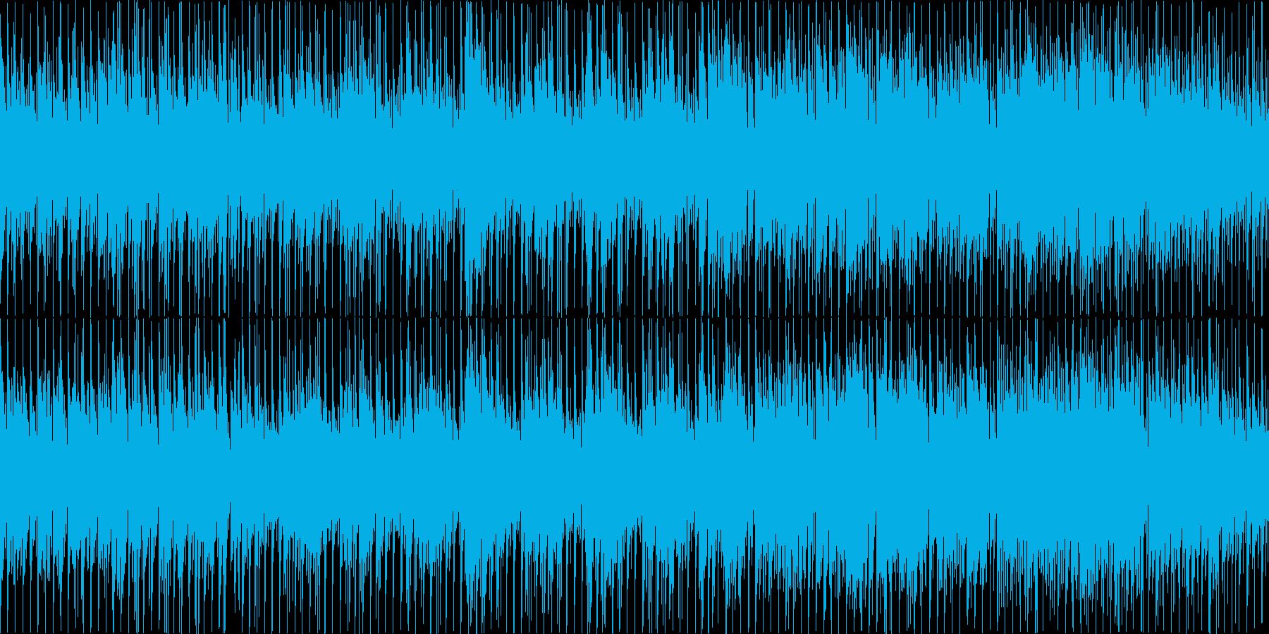 【ループ】爽やかで元気なギターインストの再生済みの波形