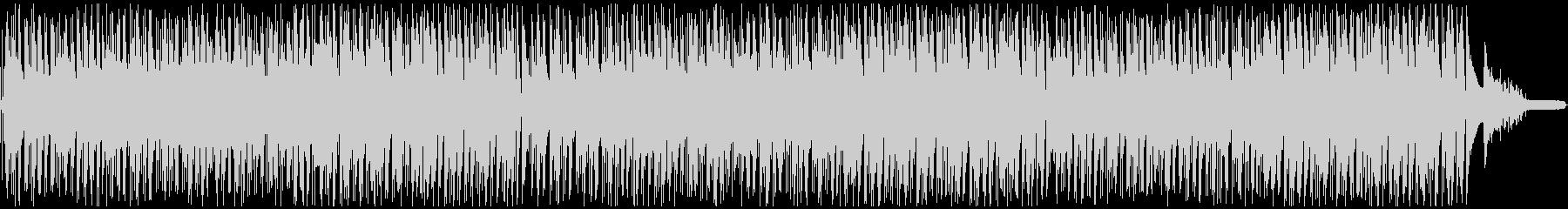 心地よいおしゃれなボサノヴァ・ピアノの未再生の波形