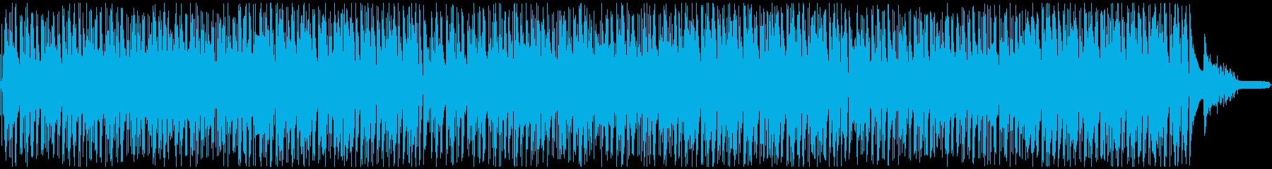 心地よいおしゃれなボサノヴァ・ピアノの再生済みの波形