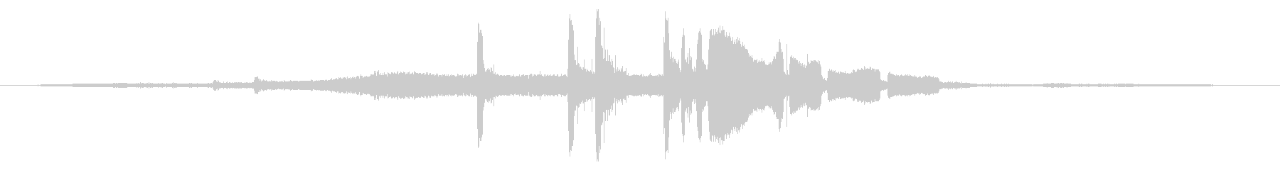 ヤマハ450 Ccモトクロス:Ex...の未再生の波形