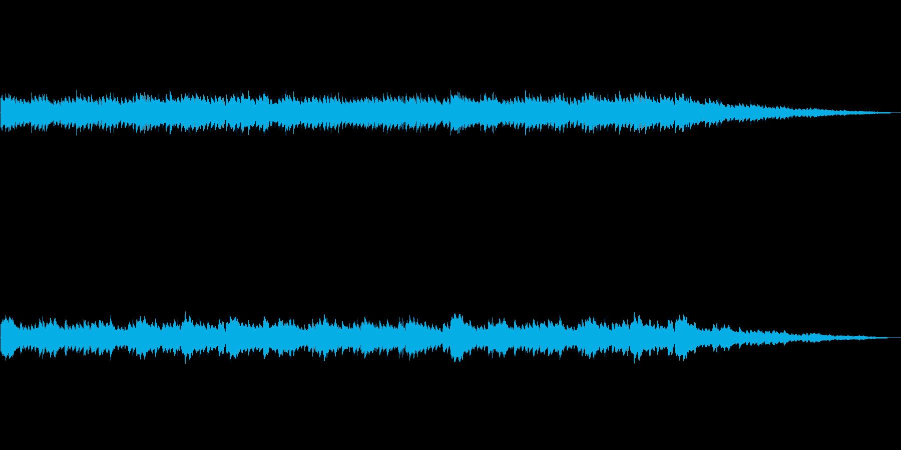 ピアノソロの曲(くり返し)の再生済みの波形