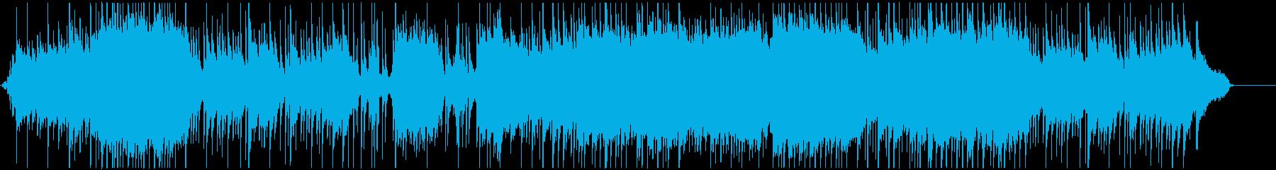 ピアノと弦楽器のゆったりとしたインスト曲の再生済みの波形