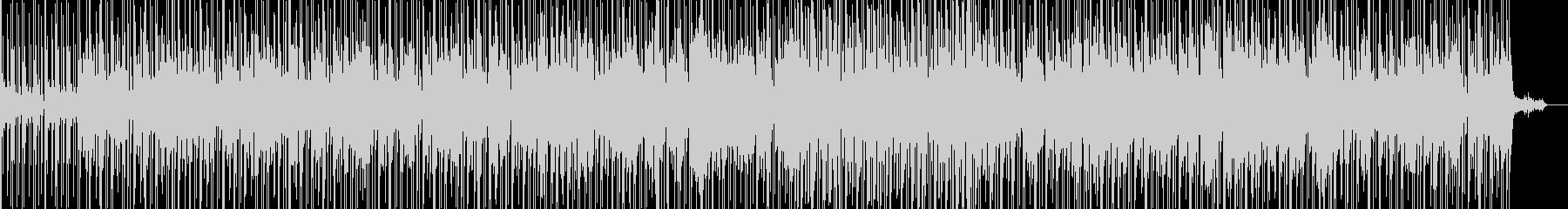 軽快なサンバのリズムと切なさの未再生の波形