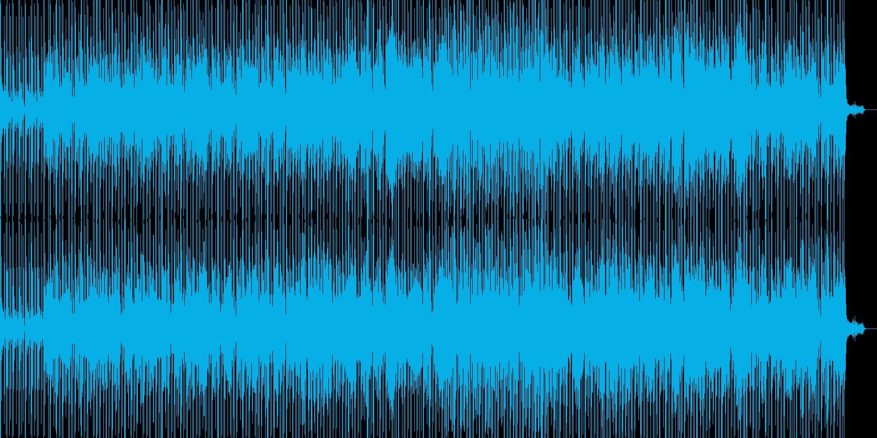 軽快なサンバのリズムと切なさの再生済みの波形