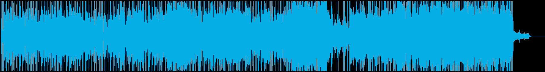 VIDEOの再生済みの波形