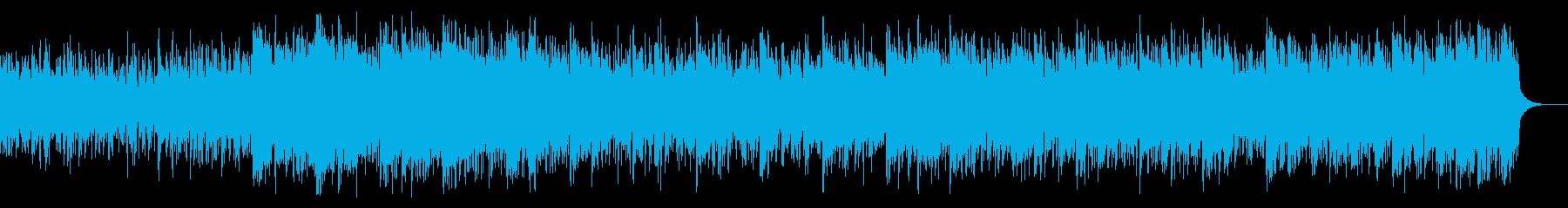 不気味なテクスチャIDMの再生済みの波形