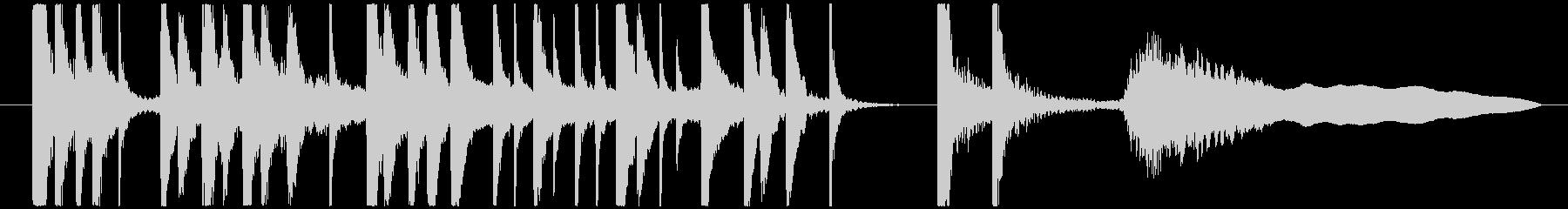 カブキ10秒ジングルシリーズ③ですの未再生の波形
