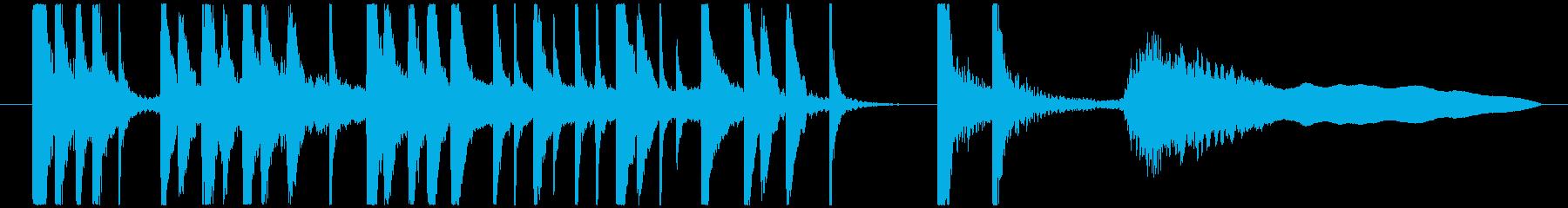 カブキ10秒ジングルシリーズ③ですの再生済みの波形