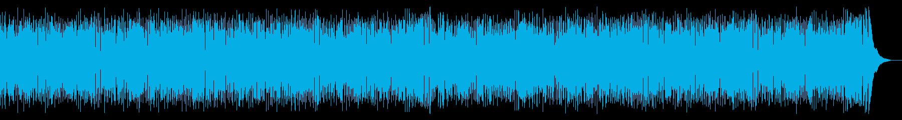 ボサノバの再生済みの波形
